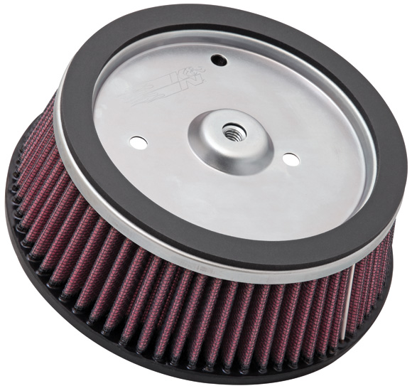 K&N Replacement Air Filter Harley Davidson -L --Cyl - HD-0800