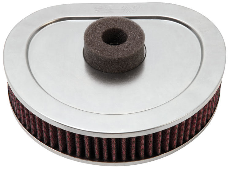 K&N Replacement Air Filter Harley Davidson -L --Cyl - HD-1390
