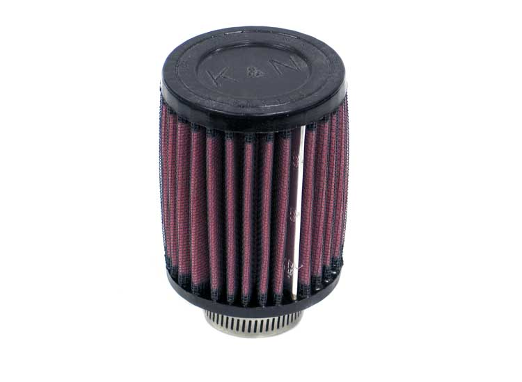 K&N Universal Clamp-On Air Filter Honda Moto -L --Cyl - RU-0070
