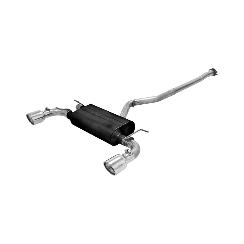 Flowmaster Catback System 409S - Dual Rear Exit - American Thunder - Moderate Sound - 817596