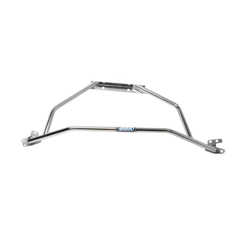 bbk performance parts 94 04 ford mustang v6 96 04 mustang gt strut tower brace chrome does not. Black Bedroom Furniture Sets. Home Design Ideas