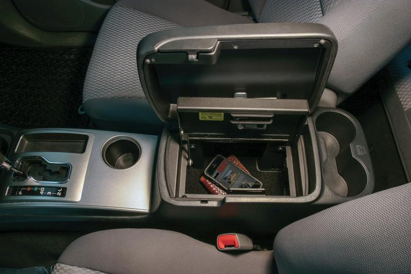 Tuffy Security Security Console Insert Toyota Tacoma 2005-2015 - 314-01