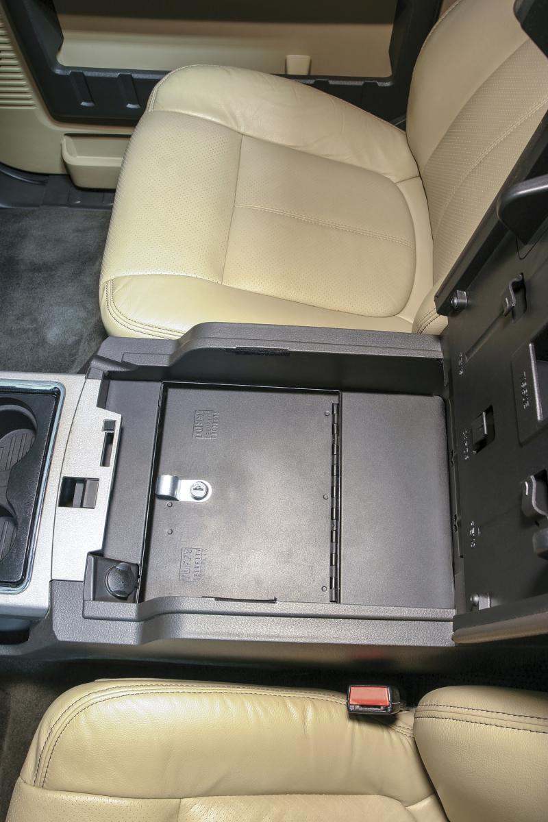 Tuffy Security Security Console Insert Ford - 322-01