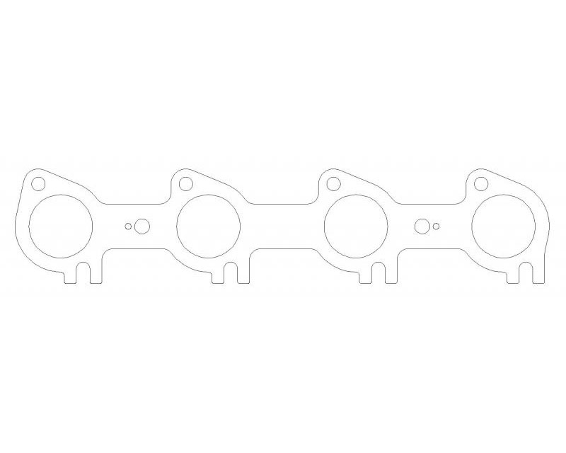 """Cometic Gaskets .030"""" MLS Exhaust Manifold Gaskets. Pair - C5853-030"""