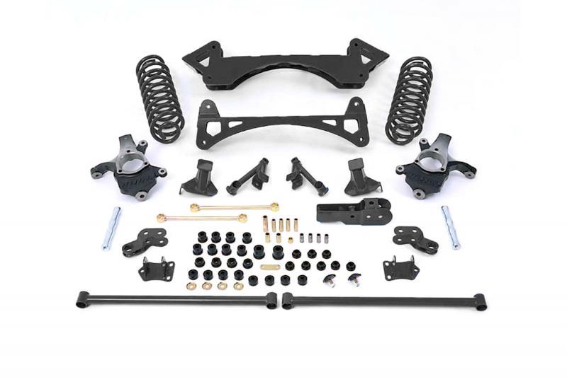 "Fabtech 6"" PERF SYS W/PERF FRT SHKS 00-06 GM C1500 SUB/YUK/TAHOE/ AVAL 2WD W/LOAD LVLNG - K1010"