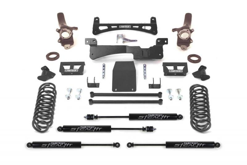 """Fabtech 6"""" PERF SYS W/STEALTH 97-02 FORD EXPEDITION W/RR COIL SPRINGS 4WD Ford Expedition 1997-2002 - K2006M"""