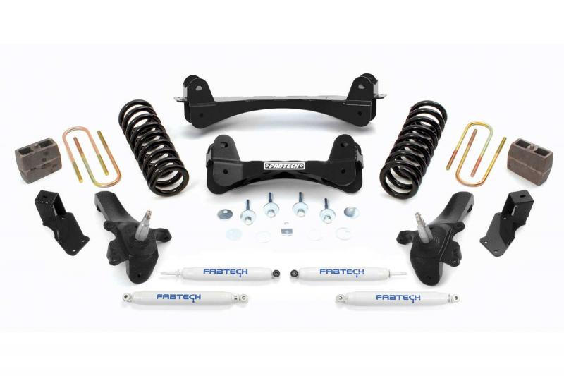 """Fabtech 7.5"""" PERF SYS W/PERF SHKS 97-03 FORD F150/04 HERITAGE 2WD TRUCK 5 LUG & F250 7 L Ford - K2008"""
