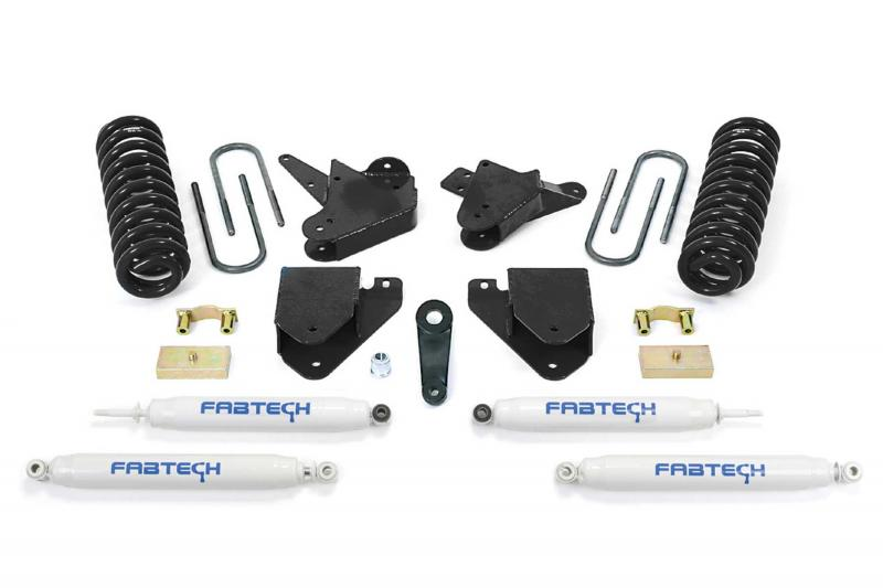 """Fabtech 6"""" BASIC SYS W/PERF SHKS 08-10 FORD F250 2WD V10 & DIESEL Ford F-250 2008-2010 - K2062"""