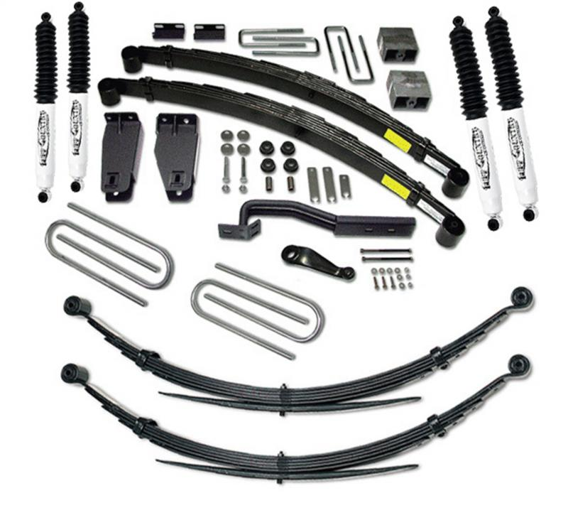 Tuff Country 26827KN Complete Kit (w/SX8000 Shocks)-6in. Ford F-250 1988-1996