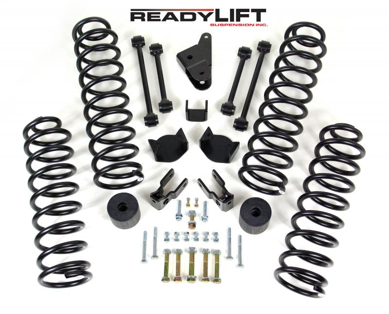 ReadyLift 2007-17 JEEP JK 4'' SST Coil Spring Lift Kit Jeep Wrangler 2007-2017