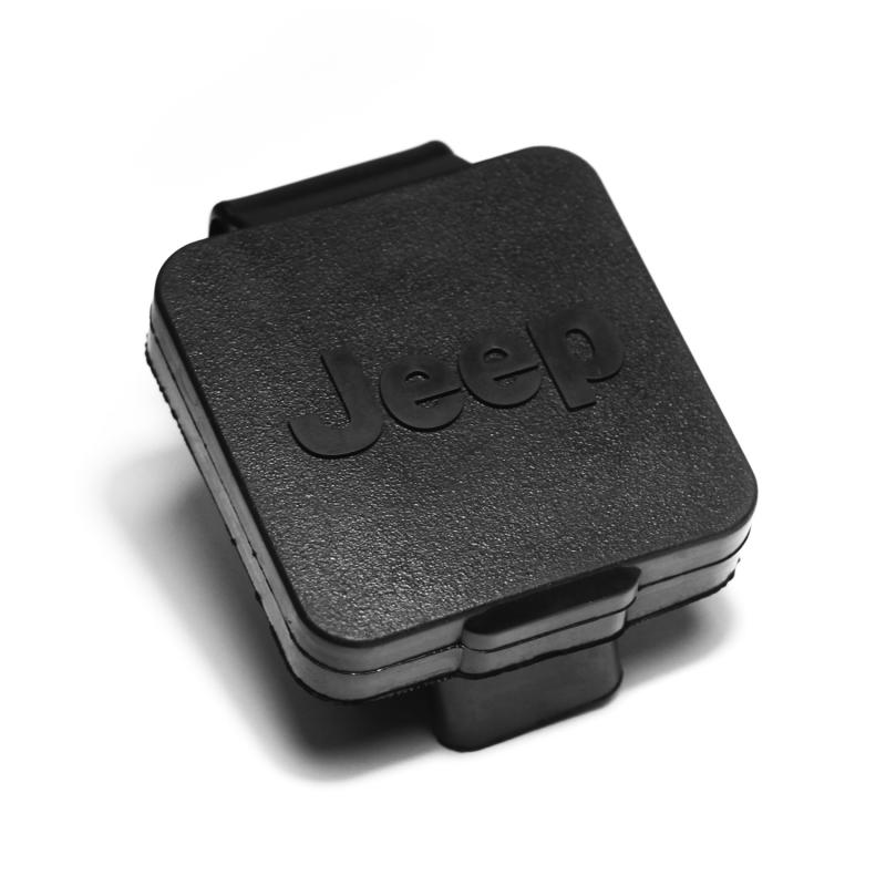 This2 inch hitch plug from Rugged Ridge features the Jeep Logo. - 11580.25