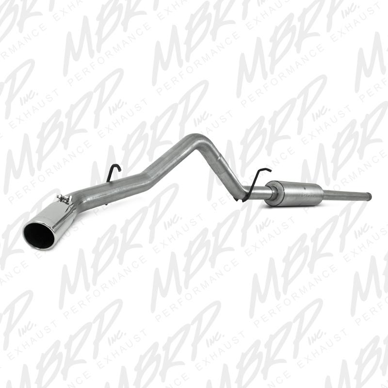 MBRP Exhaust 3in. Cat Back; Single Side; AL - S5054AL