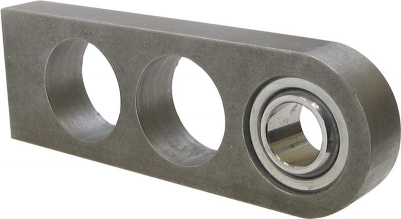 Borgeson Steering Shaft Support; 6in. Billet Steel; Weld On; 3/4in. ID - 670600