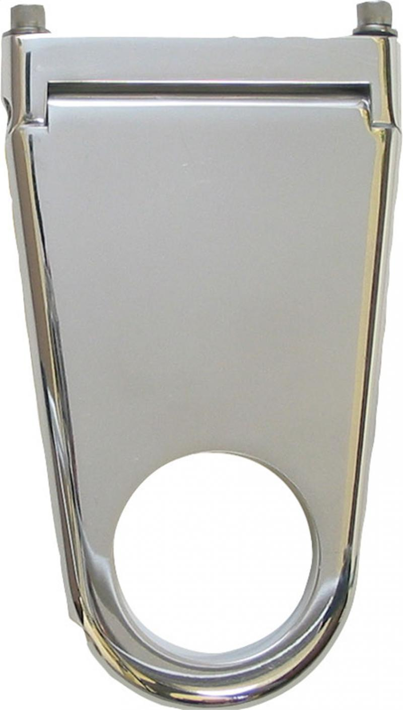 Borgeson Column Drop; Blank Style; 2-1/4in. Column X 3in. Drop; Polished Aluminum - 911223