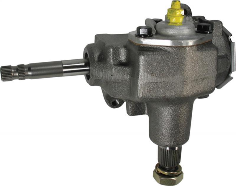 Borgeson Steering Box; Manual; OEM Saginaw 525 Series; 3/4-30 Spline; NEW - 920010