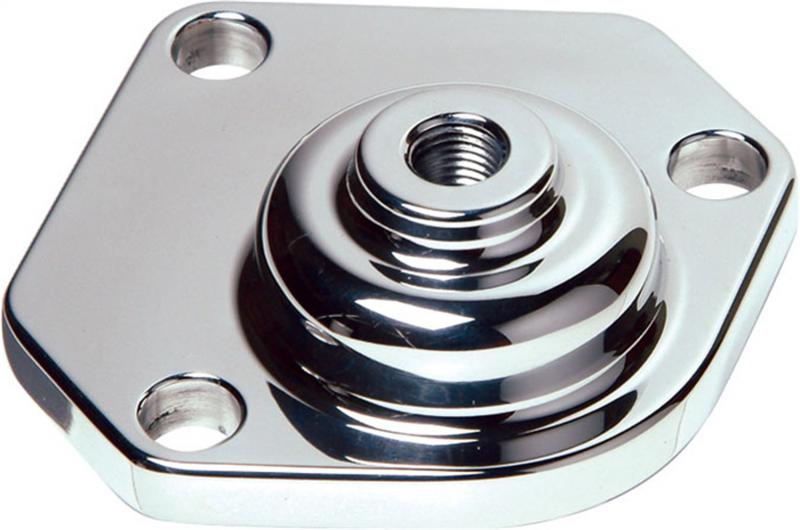 Borgeson Billet Top Cap; Fits 525 and 55-57 Manual Steering Box; Polished Finish - 921006