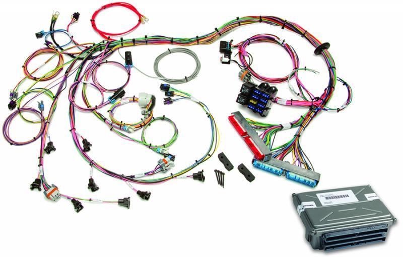 Painless Wiring 1998-2004 GM LS1/LS6 EFI Harness (60508 w/VATS Removed ECM) - 60713