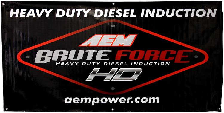 AEM Induction AEM Banner - 10-926L