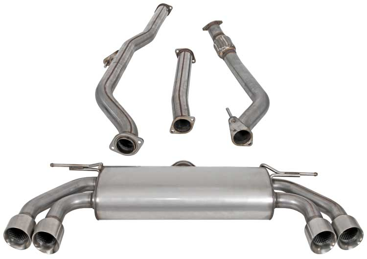 AEM Induction AEM Aftermarket Exhaust Hyundai Genesis Coupe 2010-2012 2.0L 4-Cyl - 600-0600