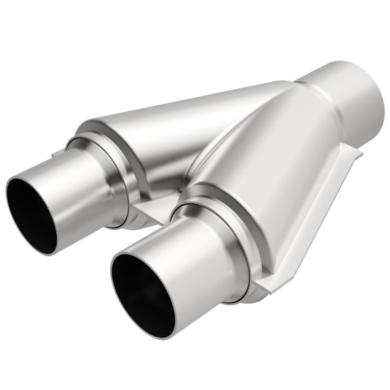 MagnaFlow Exhaust Products Exhaust Y-Pipe - 2.50/2.00 - 10748