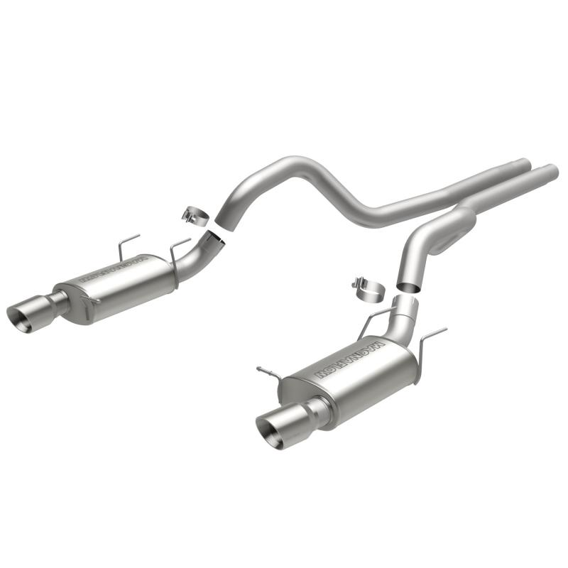 MagnaFlow Exhaust Products Street Series Stainless Cat-Back System Ford 5.0L V8 - 15149