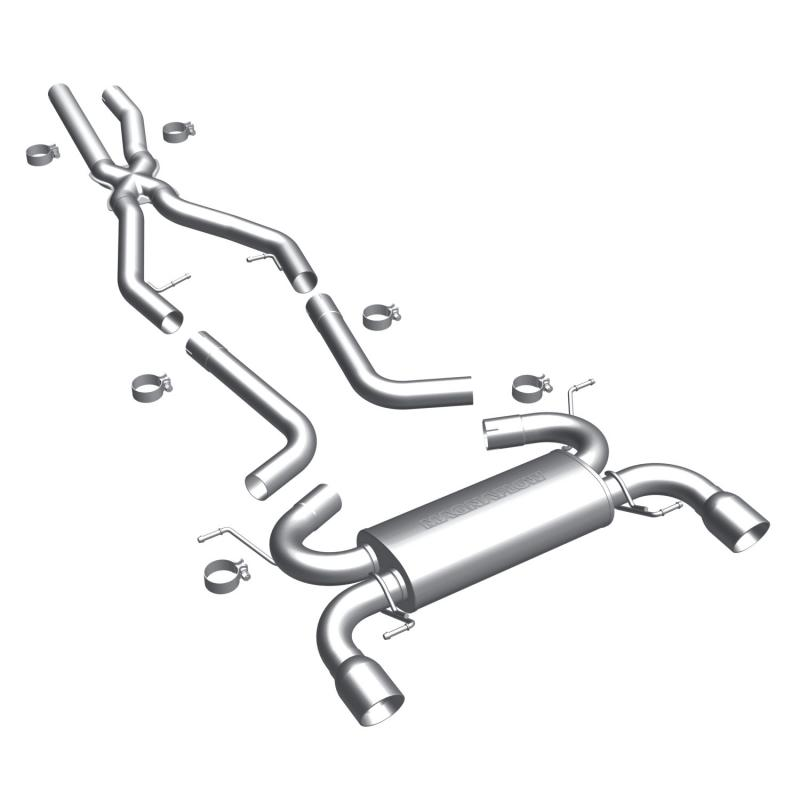 MagnaFlow Exhaust Products Touring Series Stainless Cat-Back System BMW 3.0L 6-Cyl - 15586