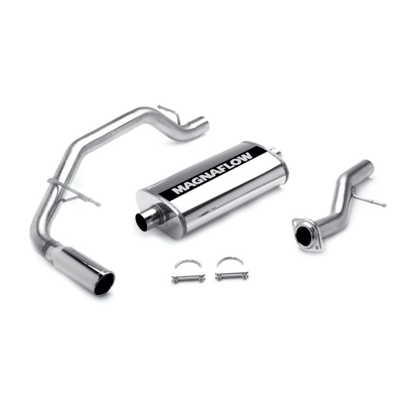 MagnaFlow Exhaust Products MF Series Stainless Cat-Back System - 15666