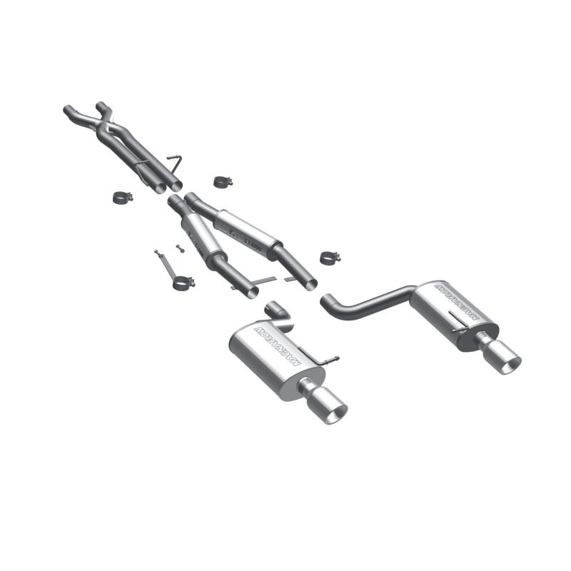 MagnaFlow Exhaust Products Sport Series Stainless Cat-Back System Audi 80 1988 4.2L V8 - 16586
