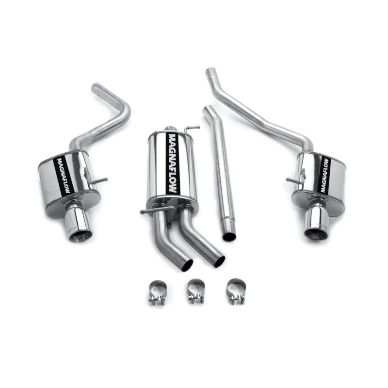 MagnaFlow Exhaust Products Touring Series Stainless Cat-Back System Audi 80 1988 - 16600