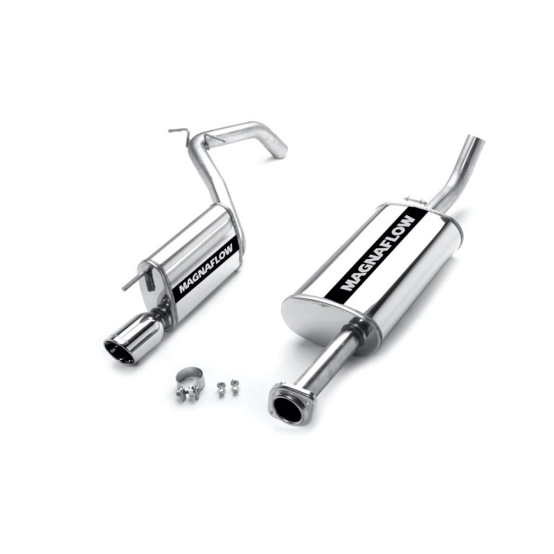 MagnaFlow Exhaust Products MF Series Stainless Cat-Back System Jeep Grand Cherokee 2005-2010 5.7L V8 - 16631