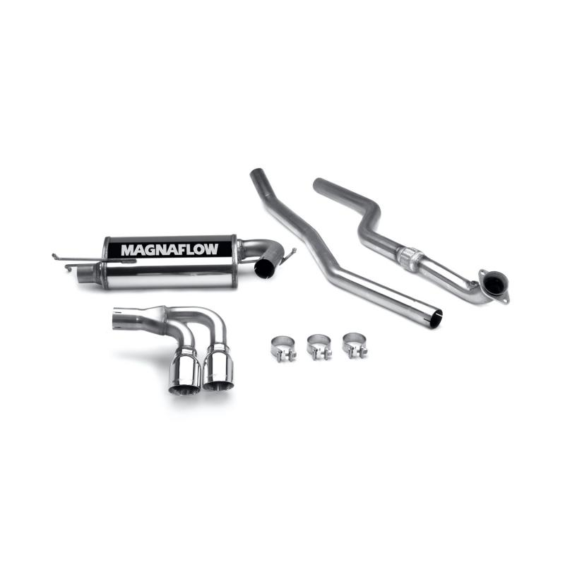 MagnaFlow Exhaust Products Street Series Stainless Cat-Back System Saturn Sky 2007-2009 2.4L 4-Cyl - 16647
