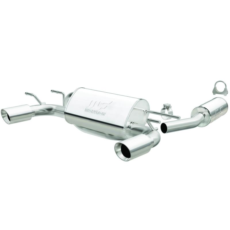 MagnaFlow Exhaust Products Street Series Stainless Cat-Back System Mazda Miata 2006 2.0L 4-Cyl - 16668