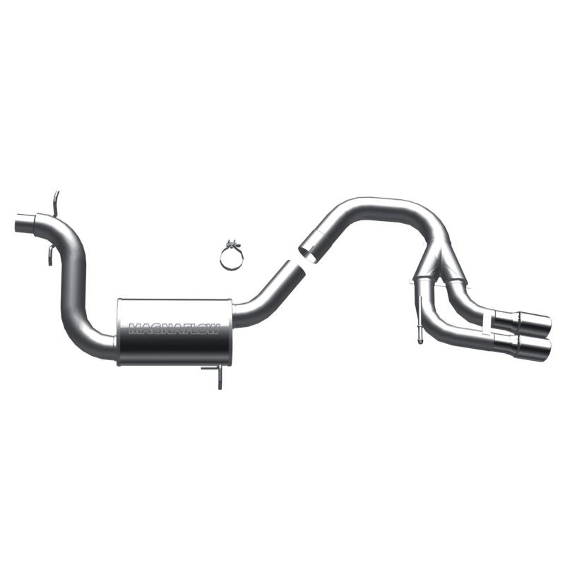 MagnaFlow Exhaust Products Sport Series Stainless Cat-Back System Audi 80 1988 2.0L 4-Cyl - 16716