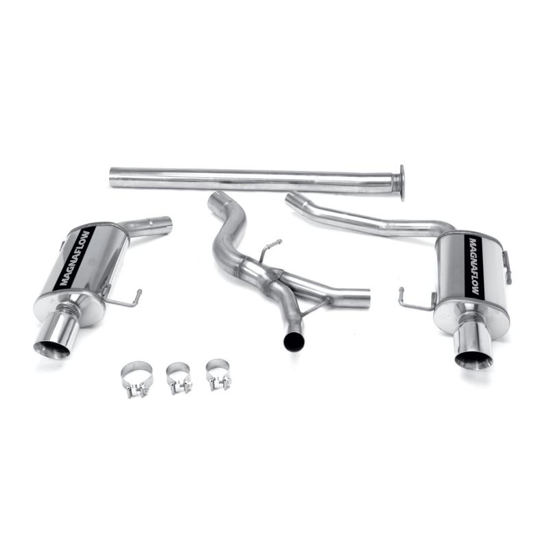 MagnaFlow Exhaust Products Street Series Stainless Cat-Back System Subaru Legacy 2005-2009 2.5L 4-Cyl - 16747