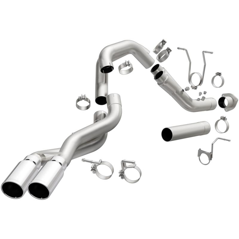 MagnaFlow Exhaust Products Aluminized Pro DPF Series Diesel 4in. Filter-Back GMC Sierra 2015-2019 6.6L V8 - 18942