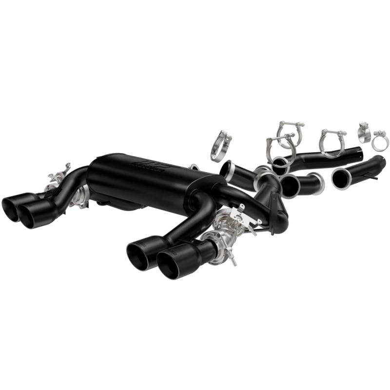 MagnaFlow Exhaust Products Touring Series Black Axle-Back System BMW 3.0L 6-Cyl - 19186