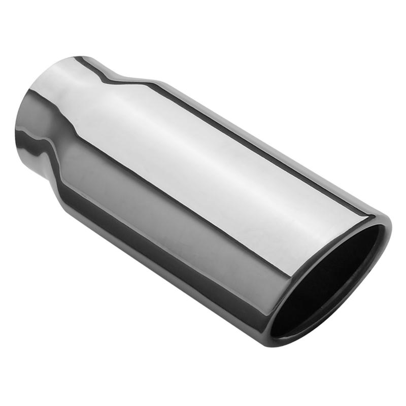 MagnaFlow Exhaust Products Single Exhaust Tip - 2.25in. Inlet/2.5 x 3.2in. Outlet - 35129
