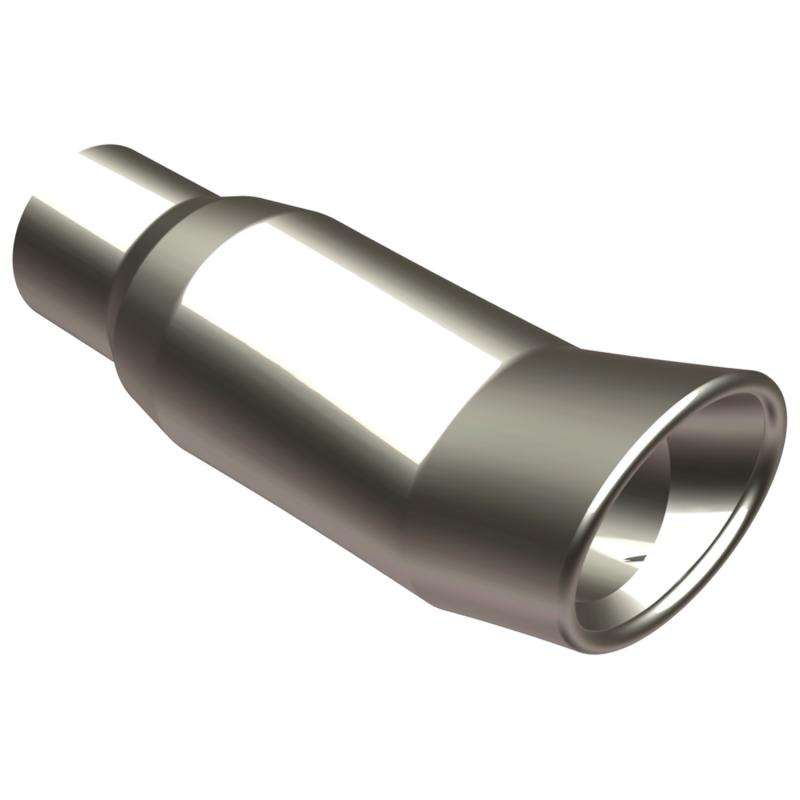 MagnaFlow Exhaust Products Single Exhaust Tip - 2.5in. Inlet/3 x 4in. Outlet - 35161