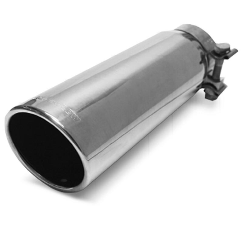 MagnaFlow Exhaust Products Single Exhaust Tip - 2.75in. Inlet/3.5in. Outlet - 35209