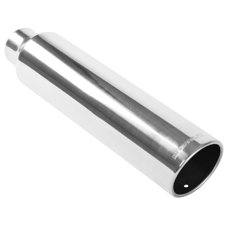 MagnaFlow Exhaust Products Single Exhaust Tip - 2.25in. Inlet/3.5in. Outlet - 35217