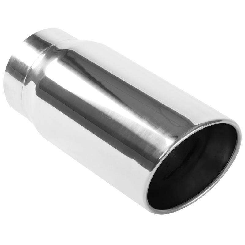 MagnaFlow Exhaust Products Single Exhaust Tip - 5in. Inlet/6in. Outlet - 35233