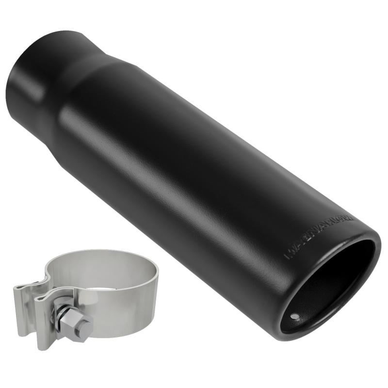 MagnaFlow Exhaust Products Single Exhaust Tip - 2.5in. Inlet/3in. Outlet - 35234