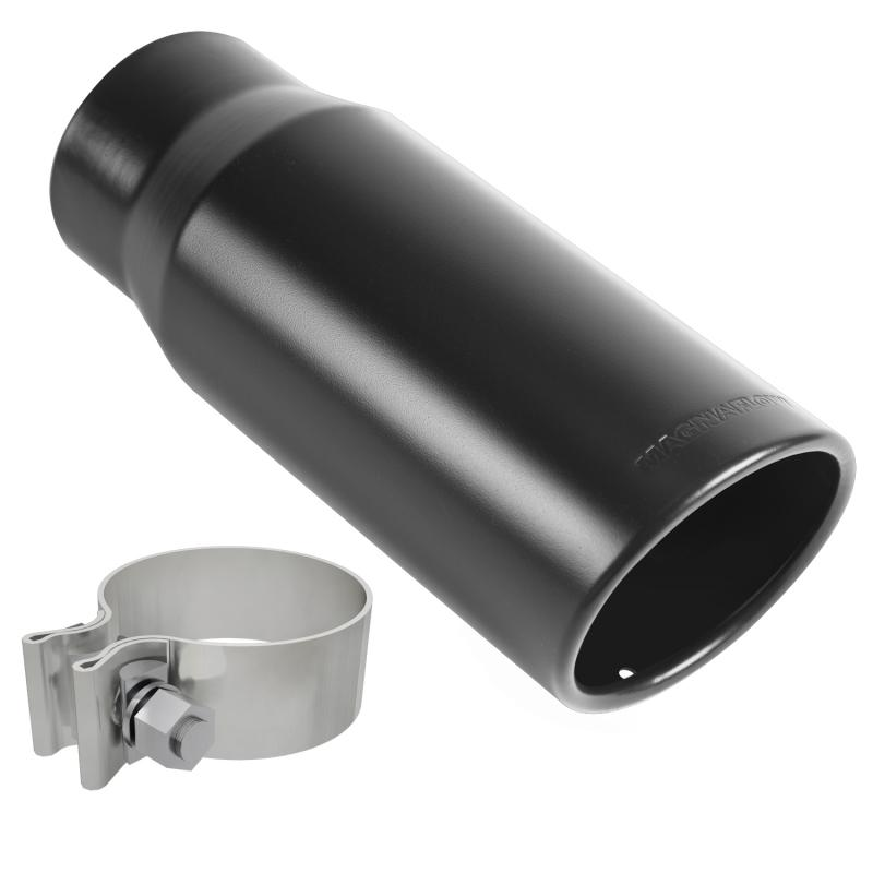 MagnaFlow Exhaust Products Single Exhaust Tip - 2.75in. Inlet/3.5in. Outlet - 35235