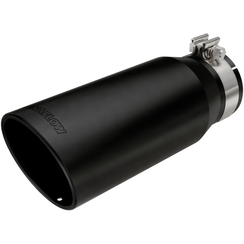 MagnaFlow Exhaust Products Single Exhaust Tip - 4in. Inlet/5in. Outlet - 35238