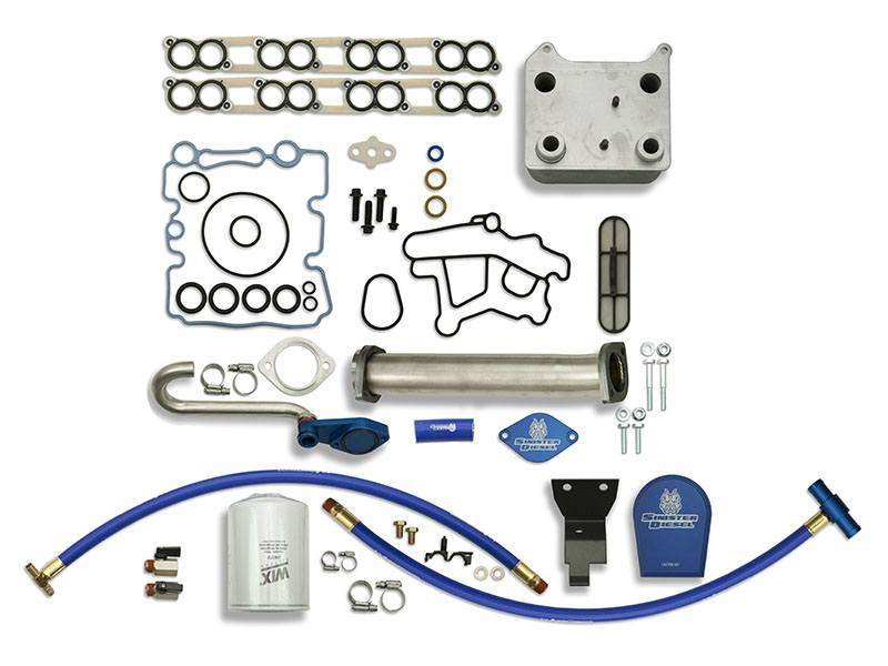 Sinister Diesel Oil Cooler Kit