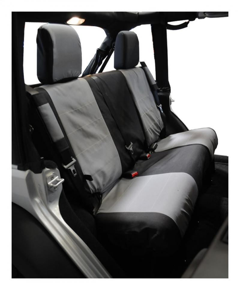 Awesome Rt Offroad Rear Polycanvas Seat Cover For 2007 2011 Jeep Jk Wrangler W 2 Doors Jeep Wrangler Rear 2007 2014 Gamerscity Chair Design For Home Gamerscityorg