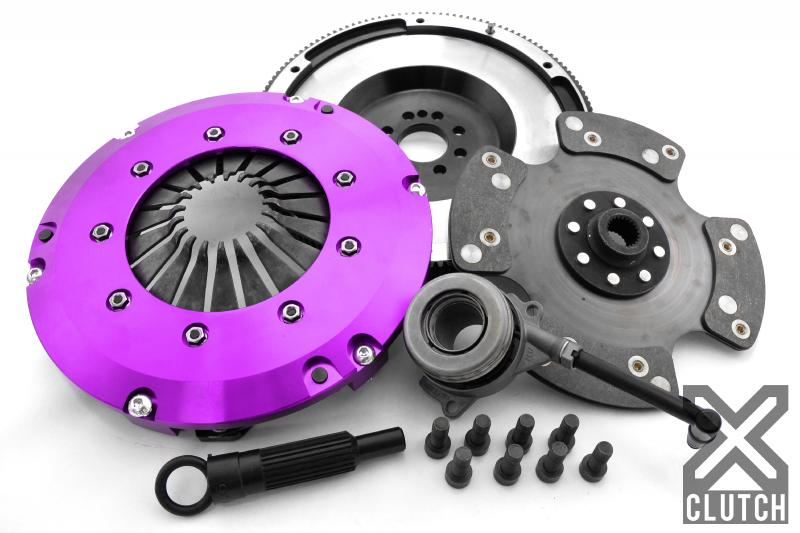 XClutch Clutch Kit with Chromoly Flywheel + HRB Stage 3 Carbon Blade Clutch Disc Volkswagen 2.0L 4-Cylinder - XKVW24698-1P