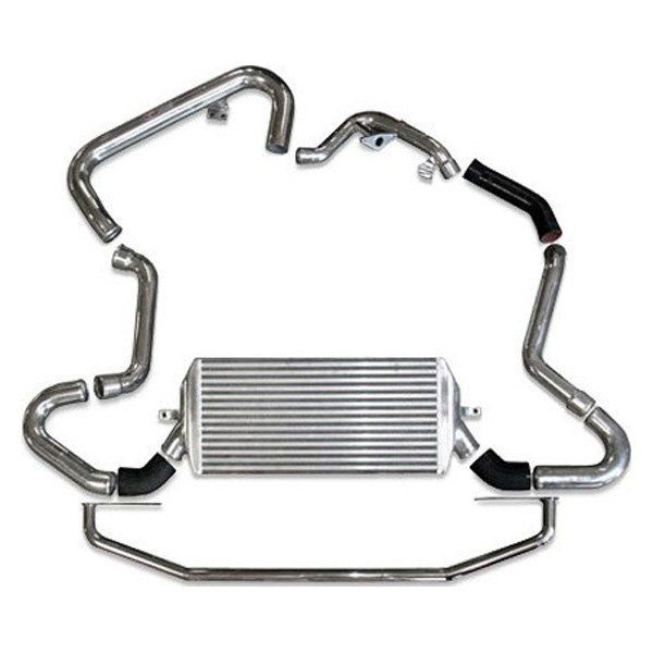 Image of Injen Large Front Mount Intercooler Kit Polished Subaru WRX 06-07 STI 05-07