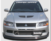 Image of ChargeSpeed Bottom Line Carbon Front Lip Mitsubishi EVO VII 2002