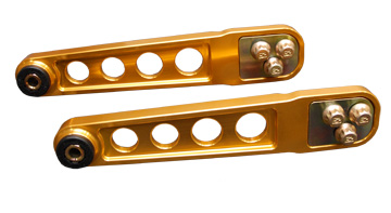 Skunk2 Rear Lower Control Arms Gold Anodized Honda Civic 01-05 - 542-05-0230